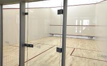 Squash budowa kort ASB Lubawa