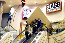 squash budowa kortów ASB w KIKO+ Głogów